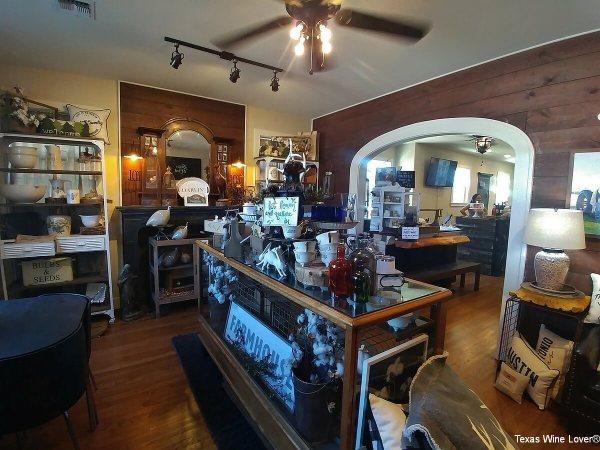 Farmhouse Vineyards gift shop