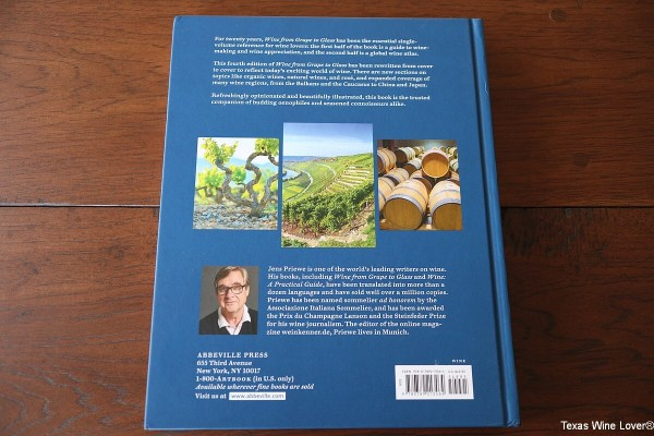 Wine from Grape to Glass back cover