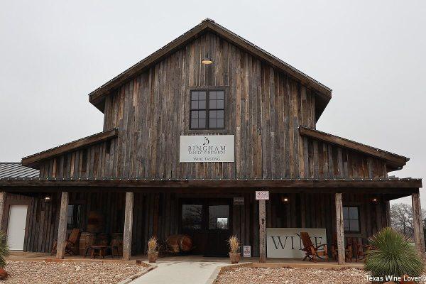 Bingham Family Vineyards exterior