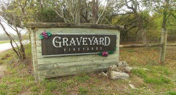 Graveyard Vineyards sign