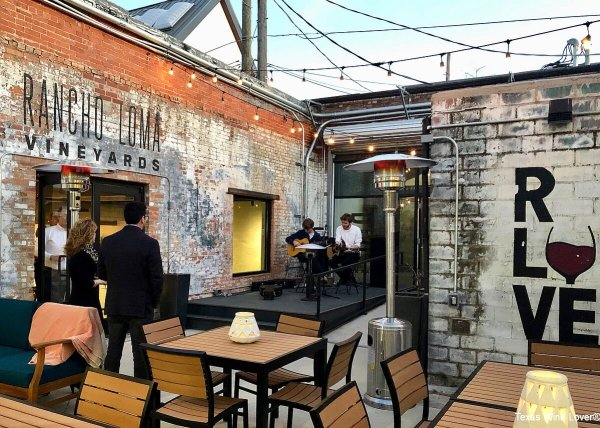 RLV Fort Worth patio