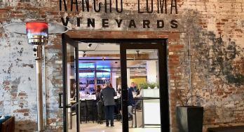 Rancho Loma Vineyards - Fort Worth entrance