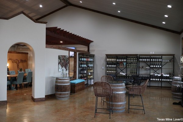 Wedding Oak Winery interior