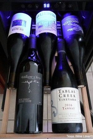Bodega 5 wines on a shelf