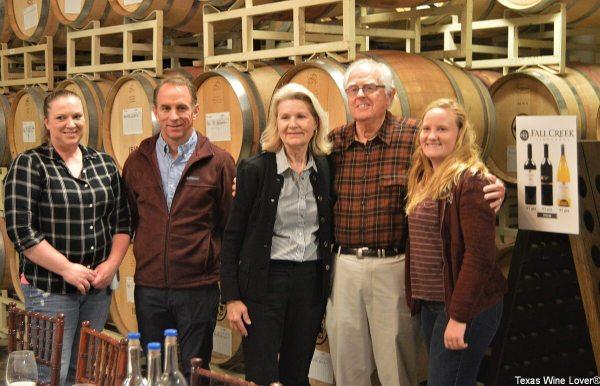 Fall Creek Vineyards people