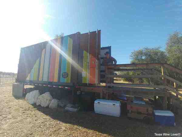 Shipping Container Tasting Room