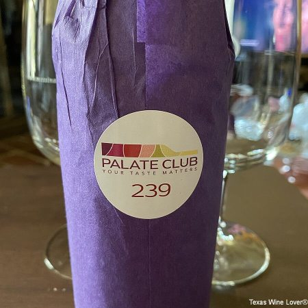 Palate Club wrapped wine