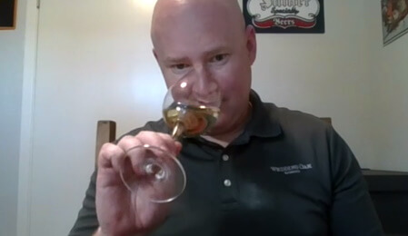 Seth with wine