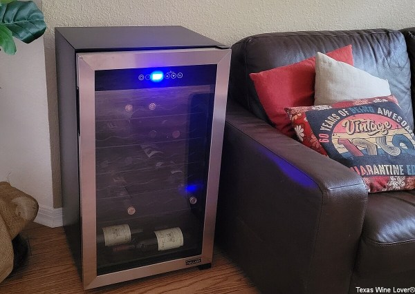 NewAir Wine Cooler closed