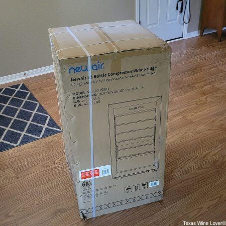 NewAir wine cooler box