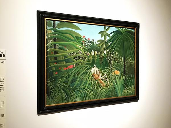 ルソーは1度もジャングルを見たことが無かった。想像で描いた傑作「馬を襲うジャガー」