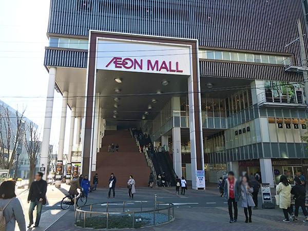 京都駅八条口にあるイオンモール。京都駅から歩いて行けるイオンということで人気です。