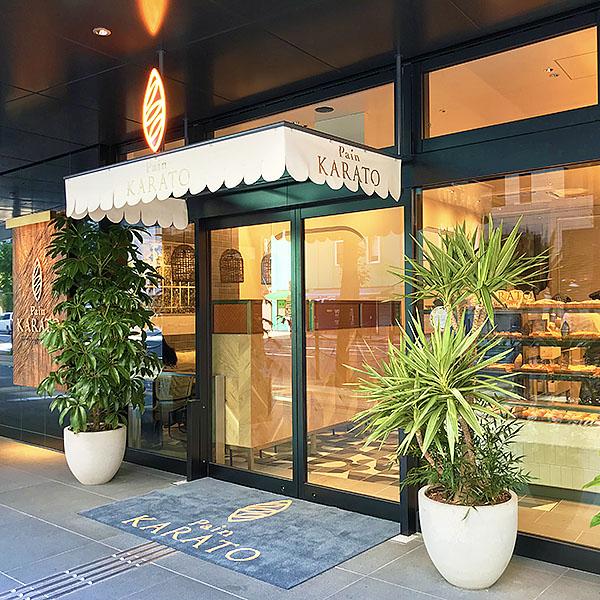 KARATOは京阪電車・北浜駅の3番出口のすぐお隣。雨に濡れずにお店に入れます。