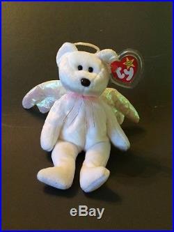 Halo The Bear Beanie Baby Value : beanie, value, Halo), Beanie, Original, Pellets, Babies