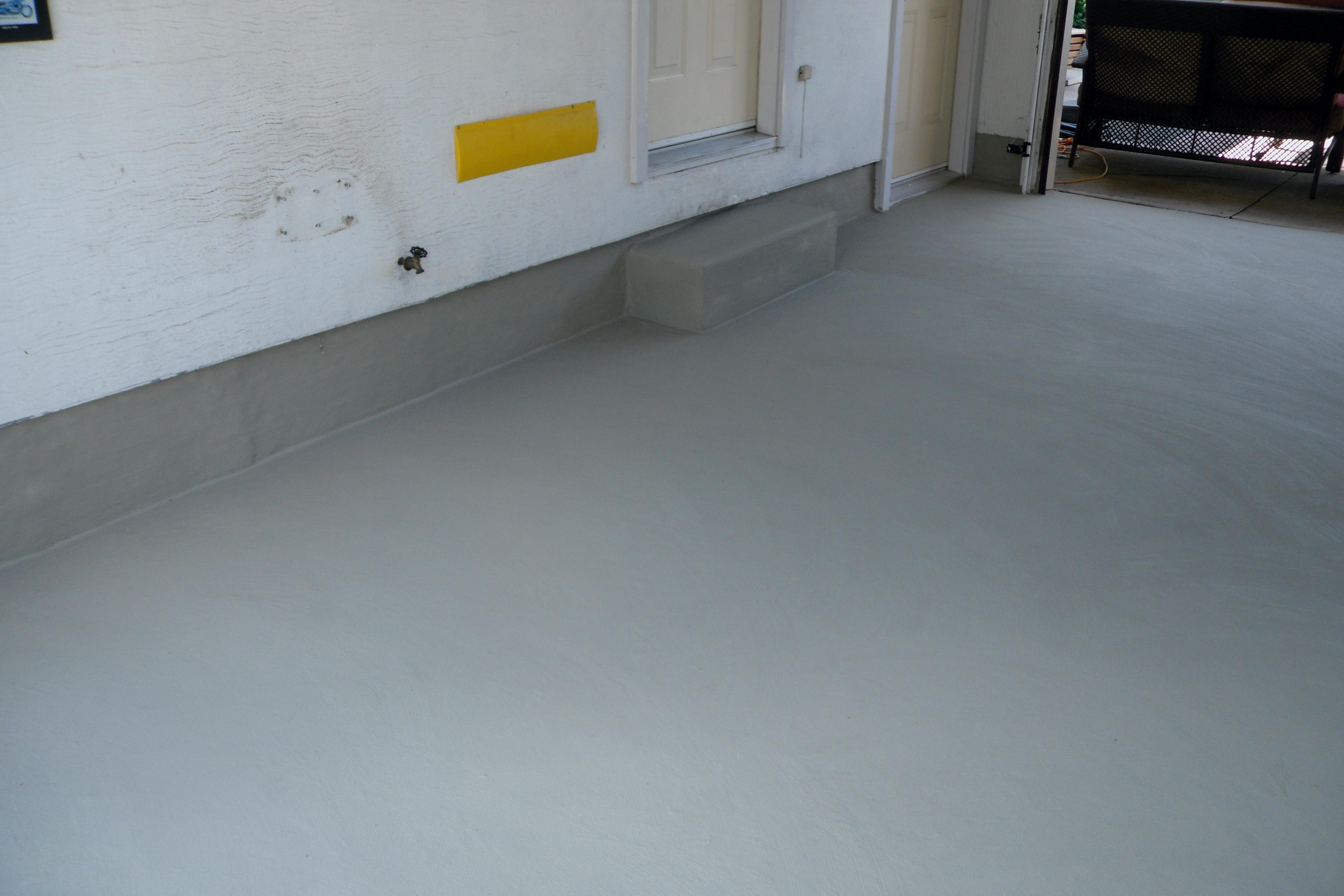 Garage Floor Resurfacing  TYBO Concrete Coatings Repair
