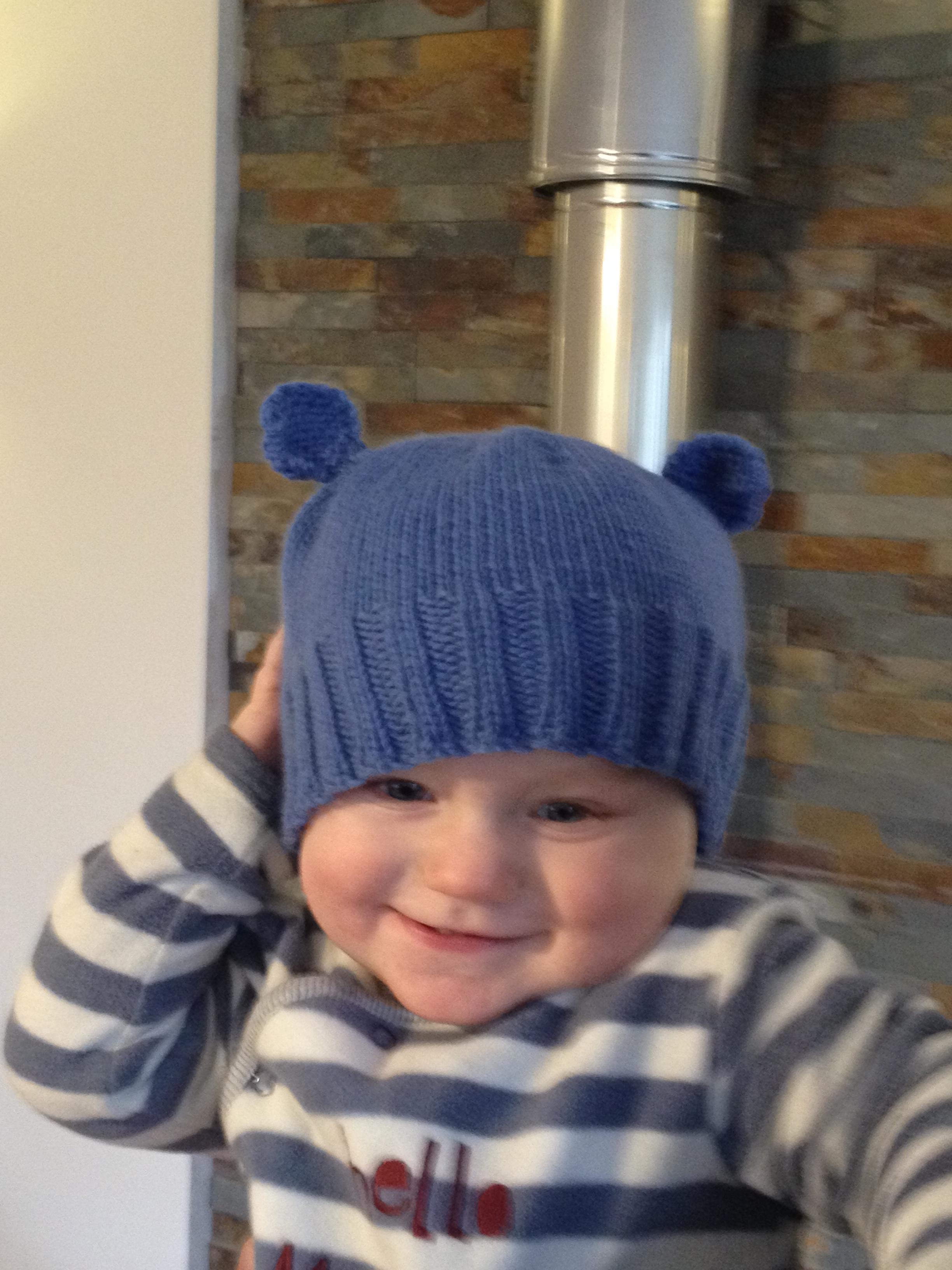 A New pattern – Little Bear hat