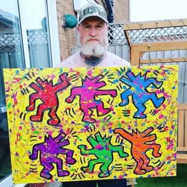 keith_haring_dancing_dogs_tye_forde_art