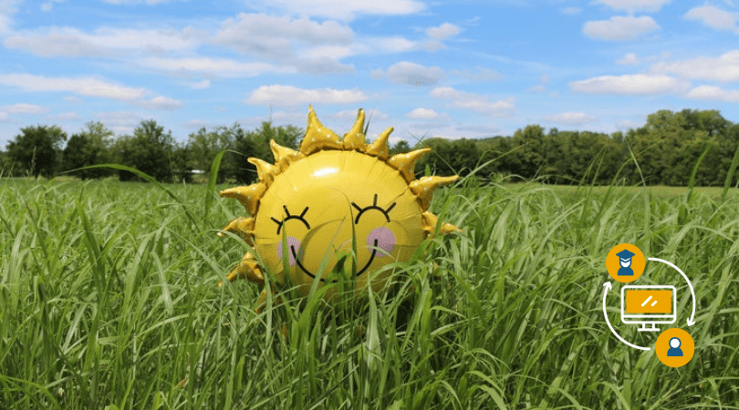 How sunny weather ruins productivity