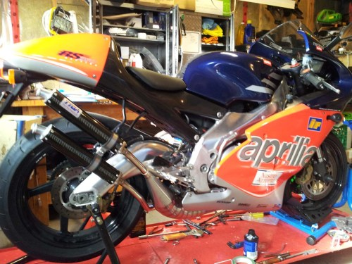 small resolution of  set exhaust chamber gp type stainless steel aprilia rs 250 aprilia wiring schematics