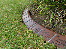 landscape curbing equipment concrete