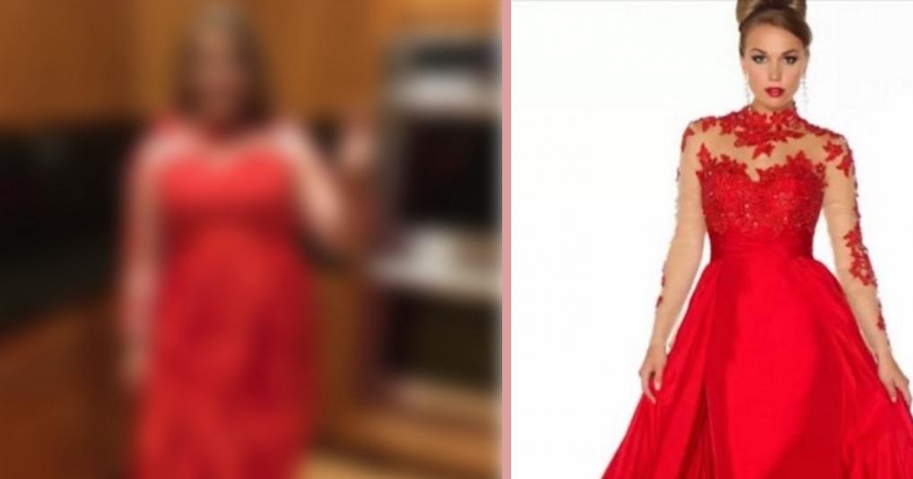 Девушка заказала в Интернете платье на выпускной но получила нечто совсем неожиданное