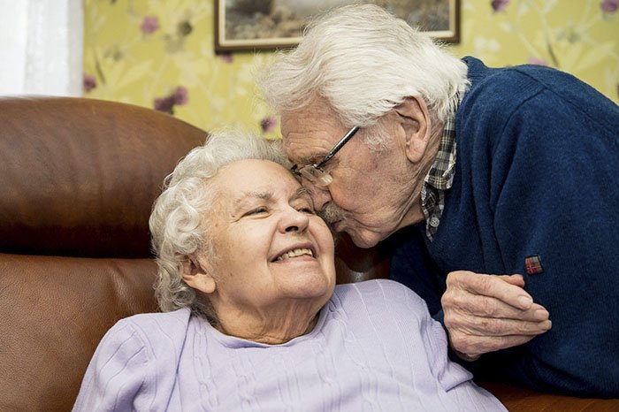 Настоящая любовь: 70 лет прожили вместе бывшая узница концлагеря и спасший ее солдат