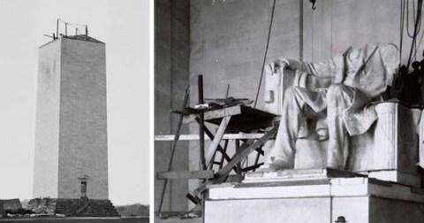 В Сеть попали снимки процесса строительства мировых культурных сооружений