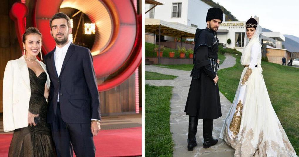 Фотографии с роскошной свадьбы Сати Казановой и Стефано Тиоццо
