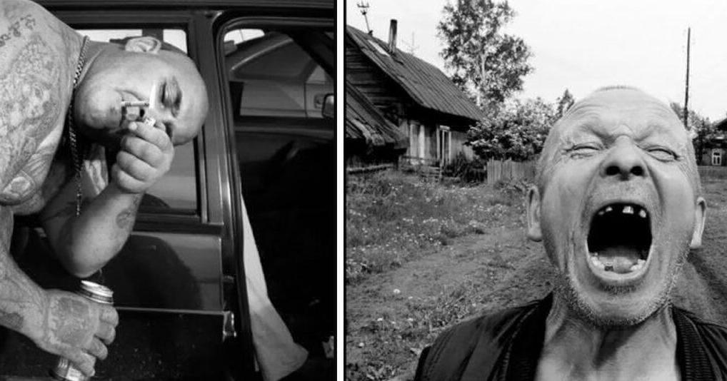 Американец сделал фотопроект, в котором показал жизнь русских преступников