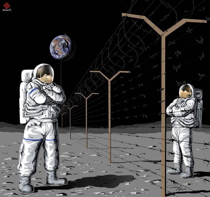 20 душещипательных иллюстраций о вопиющих бедах человечества