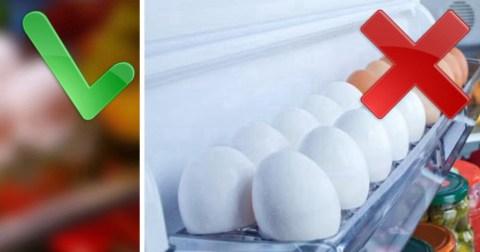 Продукты обитающие на вашей кухне, которые вы неправильно храните
