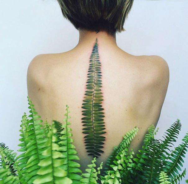 20 самых эксклюзивных и экстравагантных тату-идей для спины