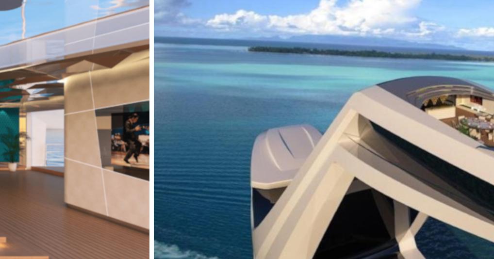 Итальянский дизайнер разработал яхту стоимостью $250 миллионов