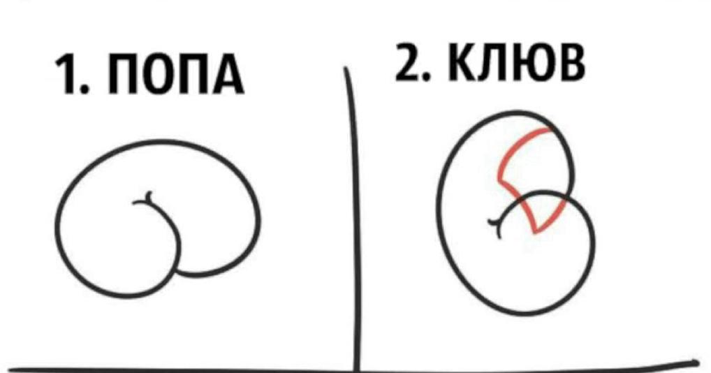 Как создать шедевральный рисунок из очертаний пятой точки? Да очень просто!