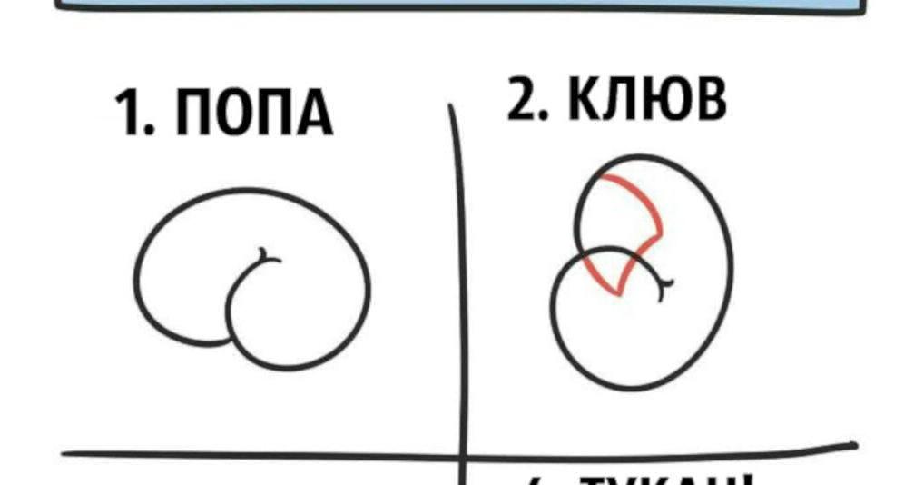 Художник показал, как создать шедевр из очертаний пятой точки