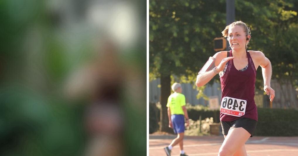 Парень решил оригинально поздравить жену с победой в забеге, чем развеселил весь Интернет