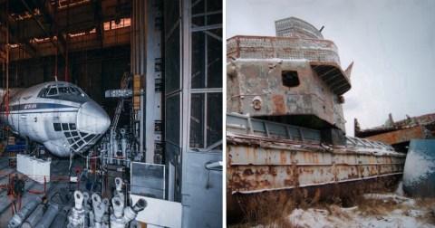 Заброшенные места, которые будоражат воображение своей невероятной историей