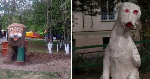 Российские дворы, от которых невольно душа уходит в пятки