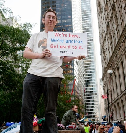 Occupy Wall Street in Zuccotti Park: A Record from Tuesday, October 11