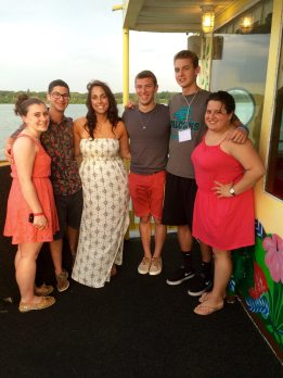SWD friends on the Calypso Dinner Cruise