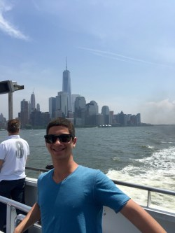 My family and I took the Statue of Liberty boat tour the week I moved out to the city.