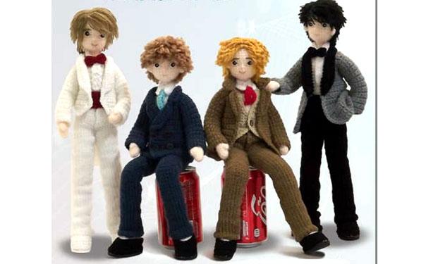 Вязаные куклы мальчики. Схема