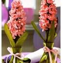 Вязаный цветок гиацинт. Схема