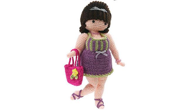 """Вязаная кукла """"Толстушка Сюзетт"""". Схема"""