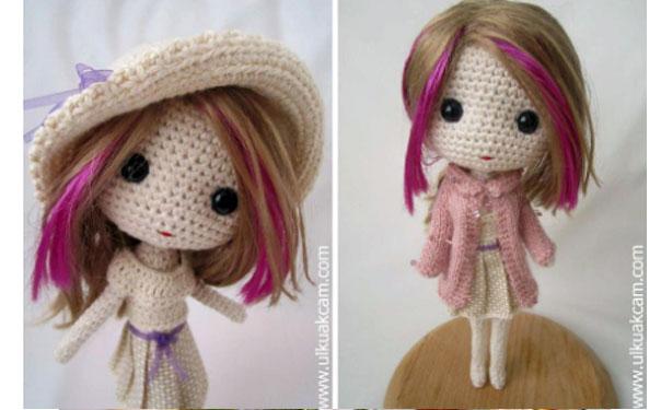 Вязаная крючком кукла Дениз. Схема