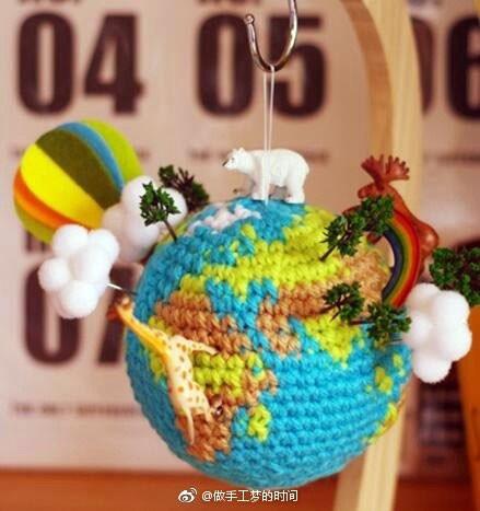 """Развивающая игрушка """"Глобус"""". Схема"""