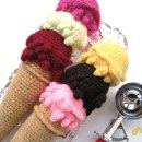 Вязаное гигантское мороженое. Схема