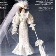 """Вязаная викторианская кукла """"Невеста"""". Схема"""