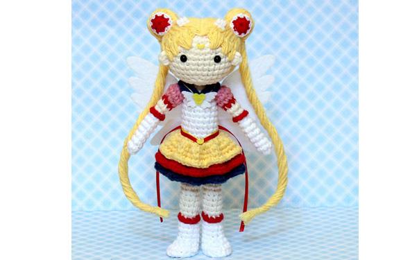 Вязаная крючком кукла.Eternal Sailor Moon. Описание