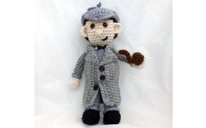Вязаный Шерлок Холмс
